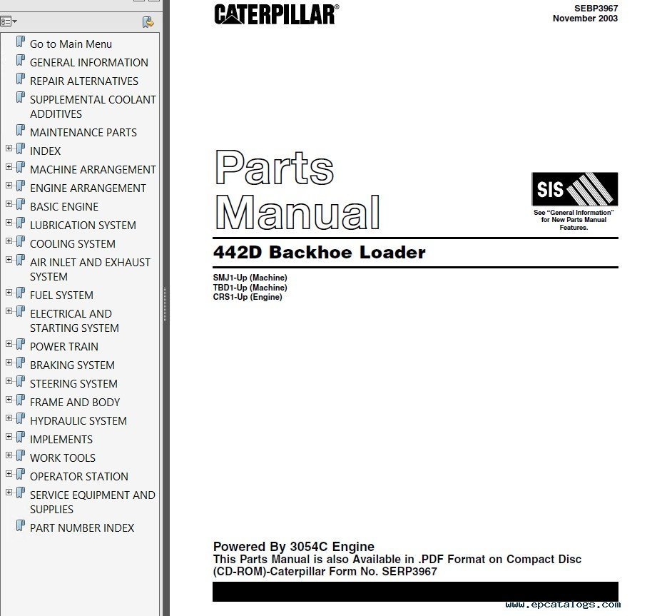 hight resolution of parts manual caterpillar enthusiast wiring diagrams