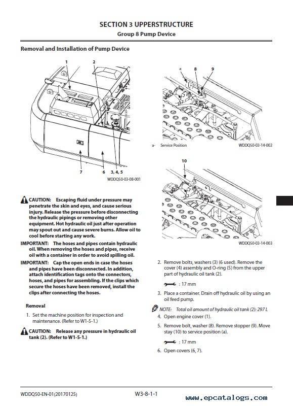 Hitachi Excavator ZX350LC(N)-6 Workshop Manual PDF