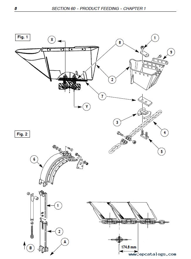 New Holland Braud Harvester SB65 PDF Repair Manual
