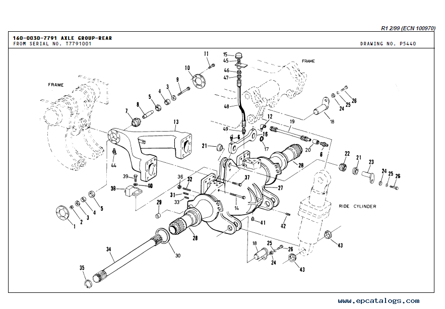 Terex Off-Highway Truck TR35 Download Parts Book PDF