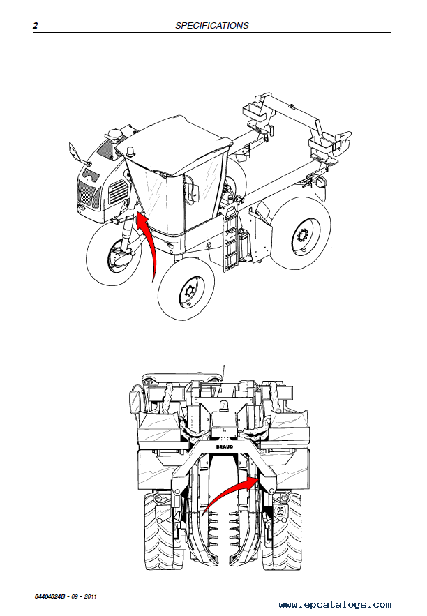 New Holland VX7090 Grape Harvester Download Service manual PDF
