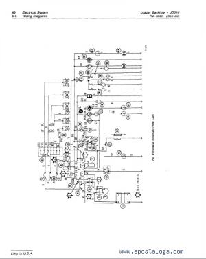 John Deere JD510 Loader Backhoe TM1039 Technical Manual