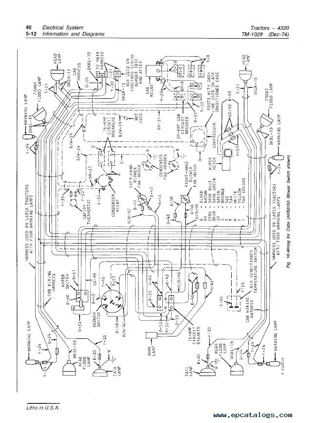 Jd 4320 Wiring Diagram | Wiring Schematic Diagram Trailer With Kes Wiring on