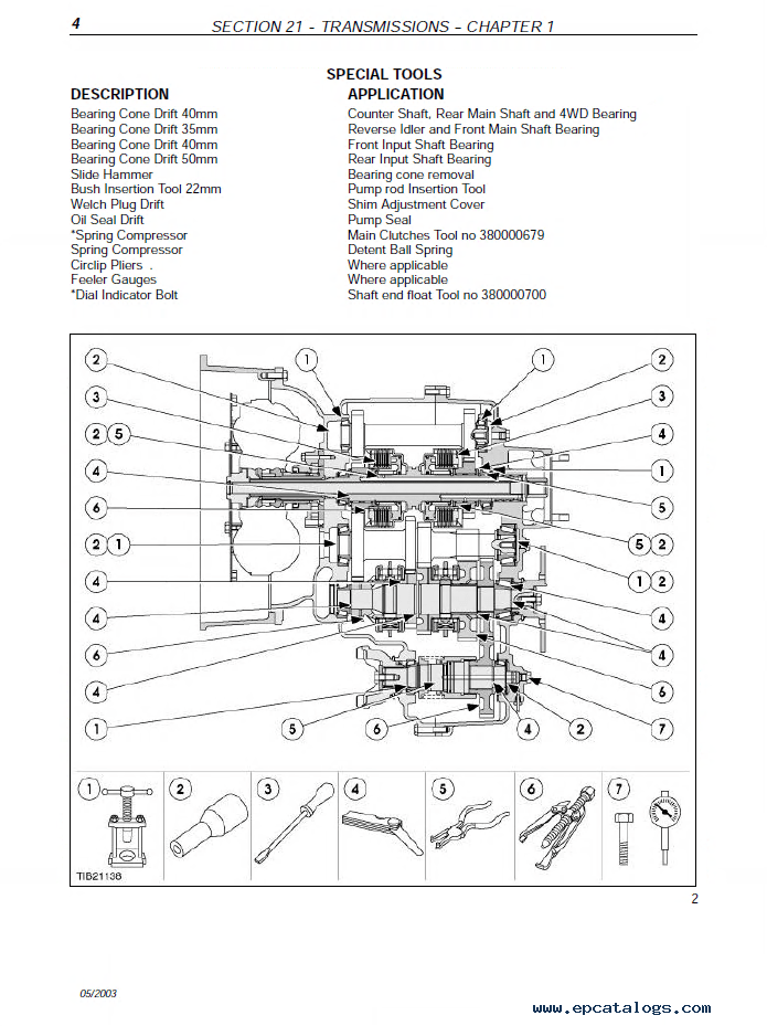Case Backhoe Loader 580SR-590SR-695SM-695SR PDF