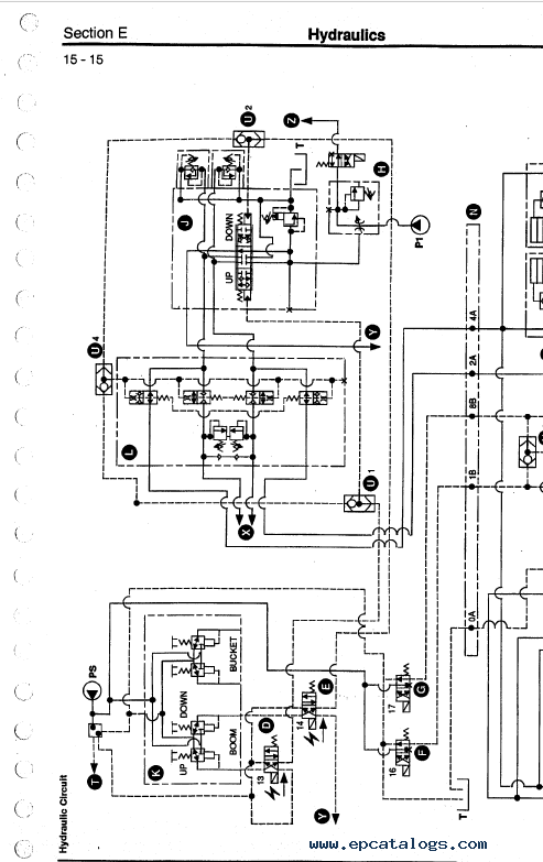 Download JCB Excavators JS130W, JS150W Service Manual PDF