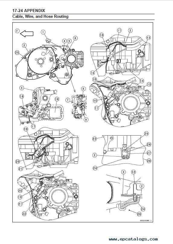 Kawasaki VULCAN 1600, VN 1600 Motorcycle Service Manual PDF
