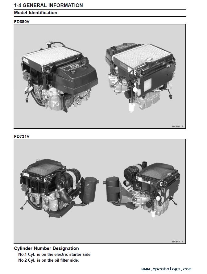 Kawasaki Engine Fd680v Fd731v Repair Manual Download