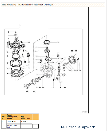 Yale C862 MO10E AC Truck PDF Parts Infromation & Manuals