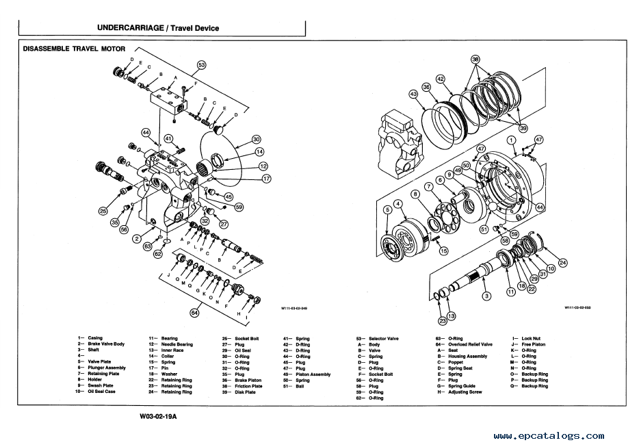 Hitachi EX550-3 EX550-3C Excavators Workshop Manual PDF