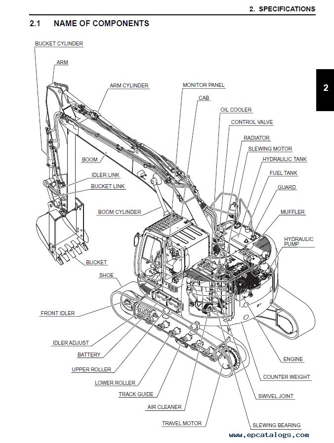 New Holland E230CSR Crawler Excavator Service Manual PDF