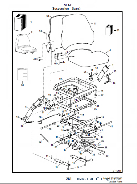 Bobcat S250 Skid Steer Parts Diagram