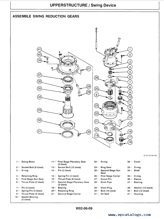 Hitachi EX300-3 Excavator Technical Workshop Manuals PDF