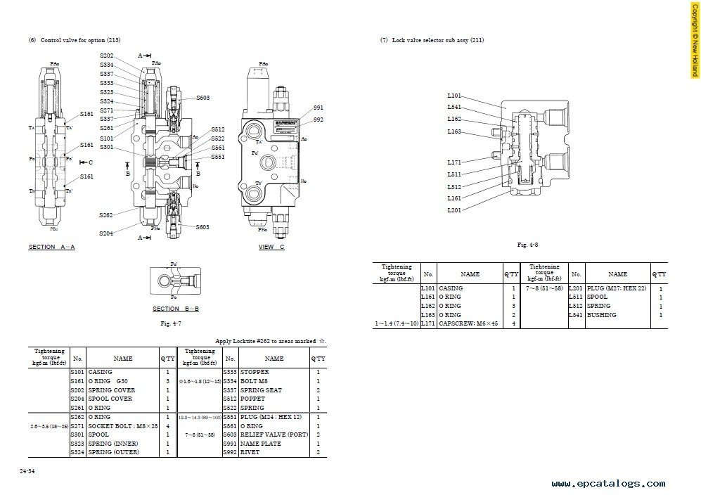 New Holland E115SR E135SR Workshop Manual PDF