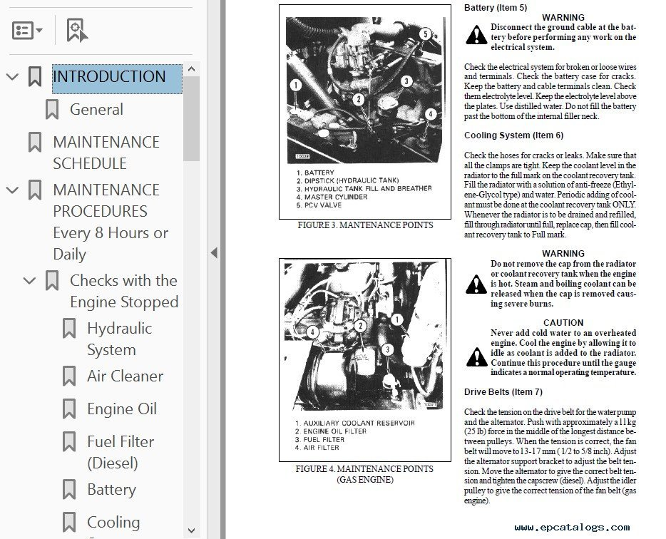 Hyster Challenger H40J, H50J, H60JS Service Manual PDF