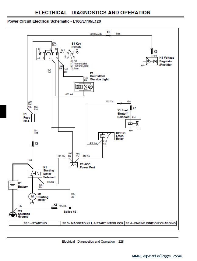 l110 john deere wiring diagram 94 325i engine wiring