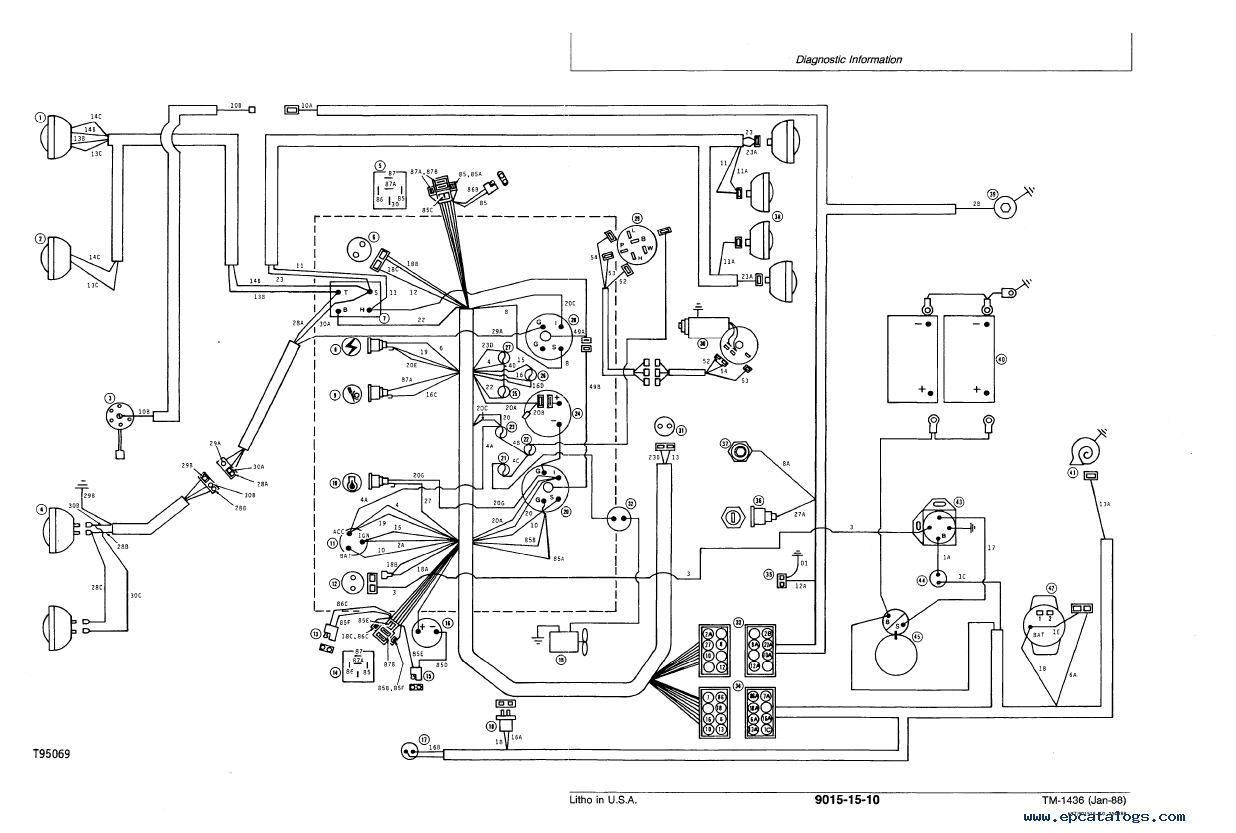 1969 cadillac deville convertible wiring diagram