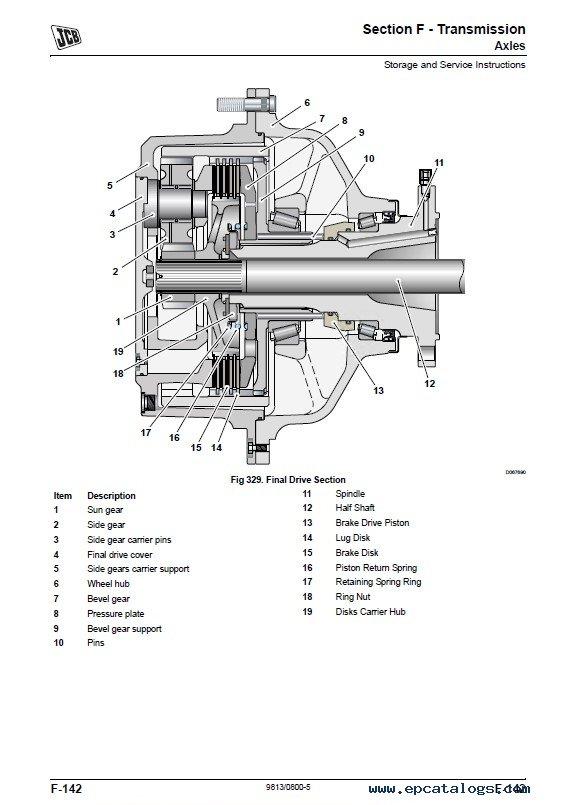 Download JCB WLS 432ZX Service Manuals PDF