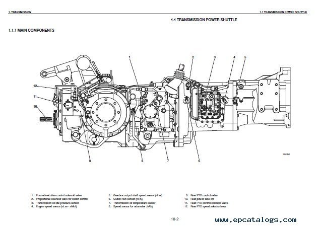 Deutz Agrotron 80 / 90 / 100 / 105 MK3 Workshop Manual PDF