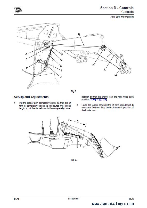 Download JCB Backhoe Loader 2DX Service Manuals PDF
