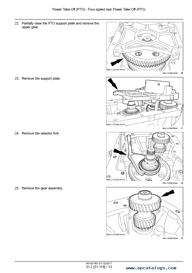 New Holland T7.170/185/200/210 Tractors PDF ServiceManual