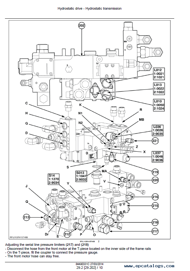 New Holland Harvester 9040/60/80/90 L/M/H Download PDF Manual
