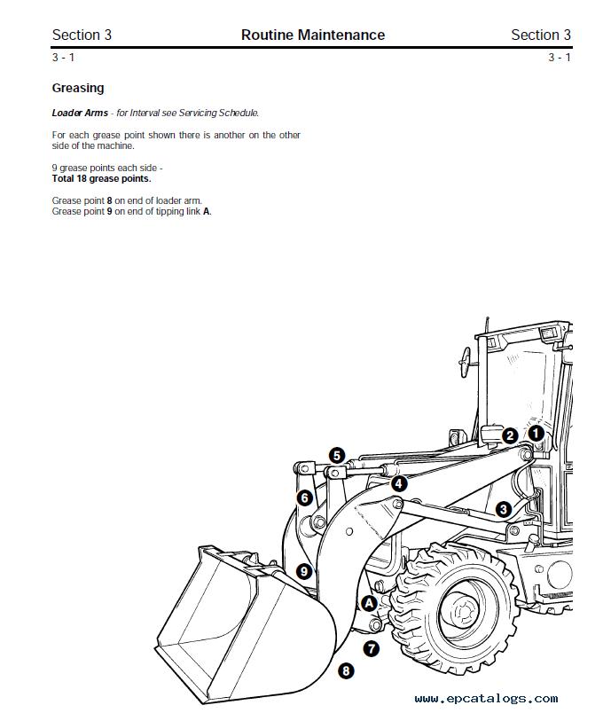 Download JCB Backhoe Loaders 2CX 2DX 210S 212S Service Manual