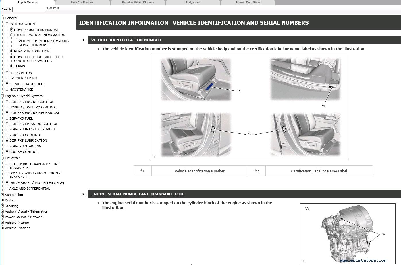 hight resolution of repair manual lexus rx450h gyl25 series repair manual 2015 1