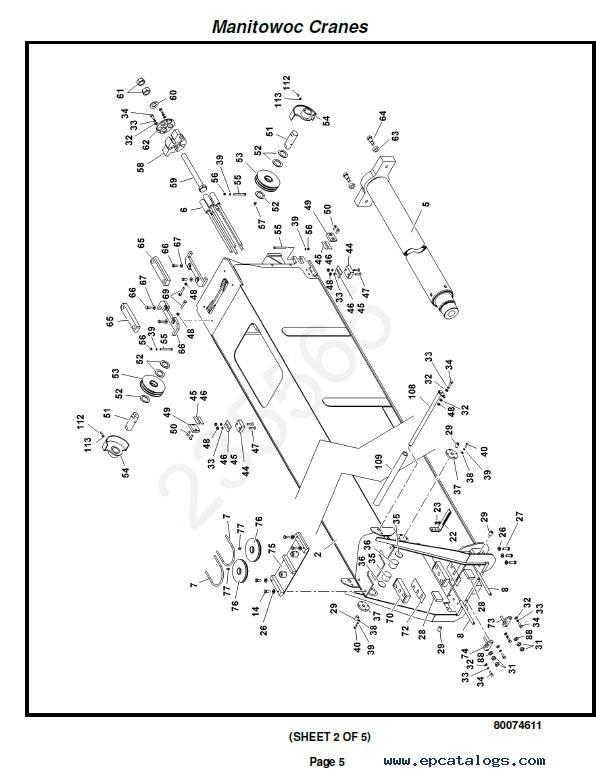 Download Grove Crane RT540E Set of PDF Manuals