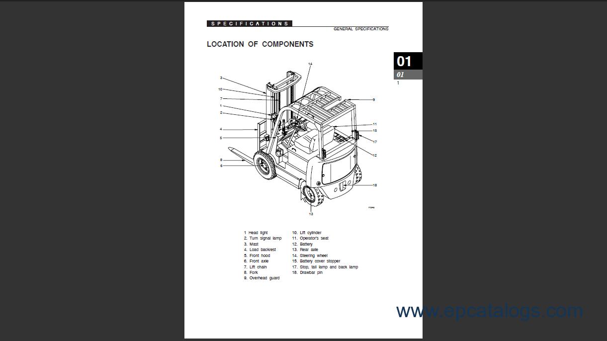 Wiring Diagram Hydraulic Diagram Clark Forklift Epcmanualscom