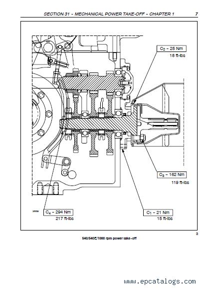 Case Tractors Farmall 65C, 75C, 85C, 95C Repair Manual pdf