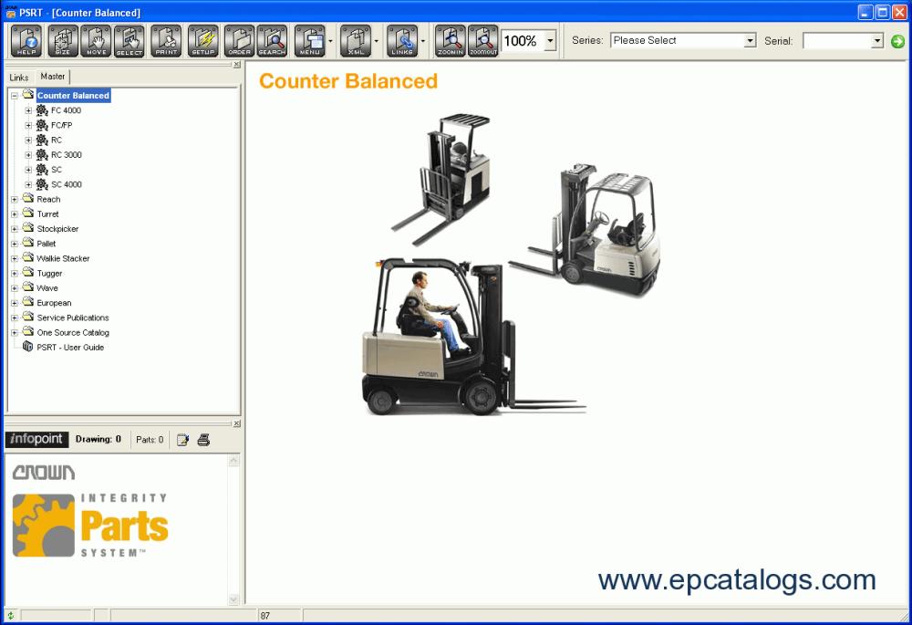 medium resolution of repair manual crown parts service resource tool 1