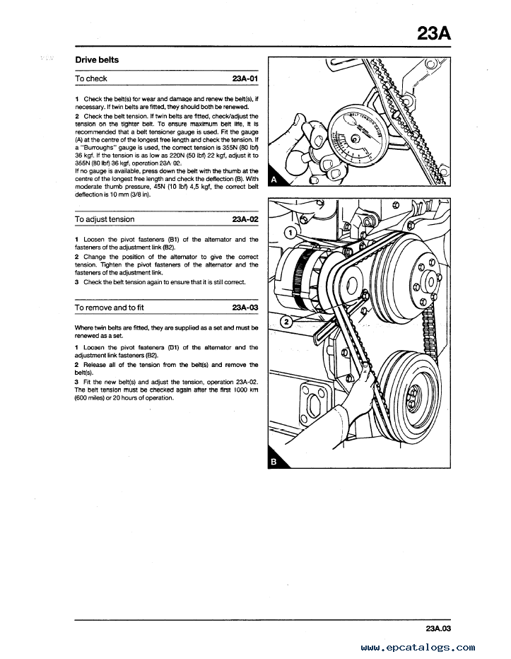 Komatsu Perkins 1000 Series Diesel Engline Shop Manual