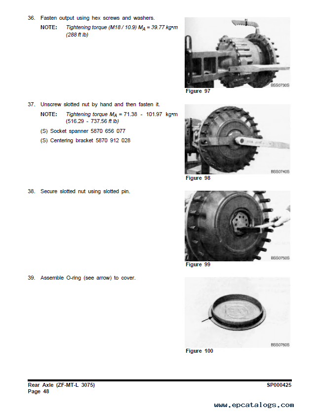 Terex TXL 250-1.5 Large Wheel Loader Shop Manual PDF
