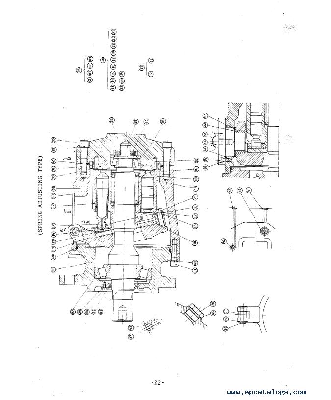Hitachi UH081 Excavator Service Manual PDF