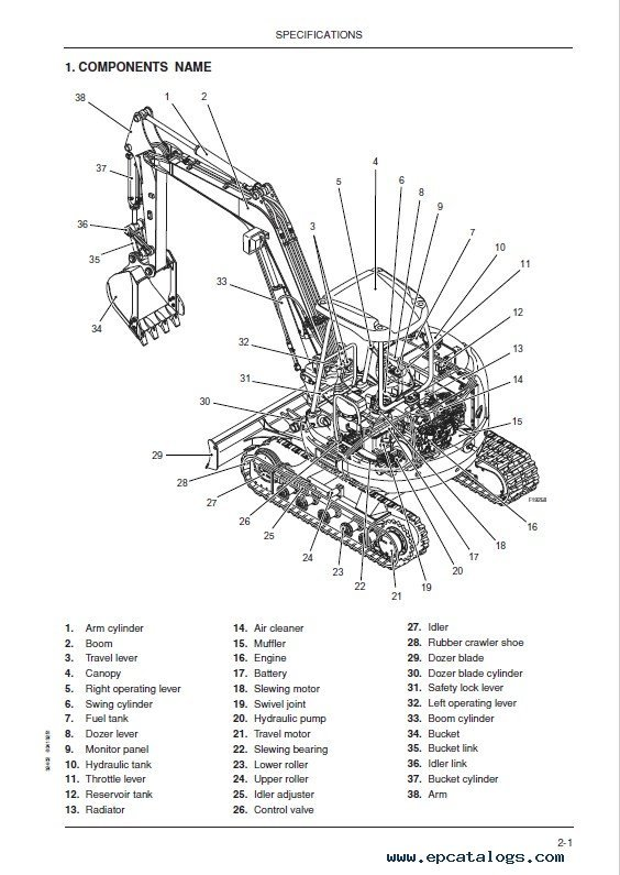 Download Fiat Kobelco E40/45SR Evolution Excavators PDF
