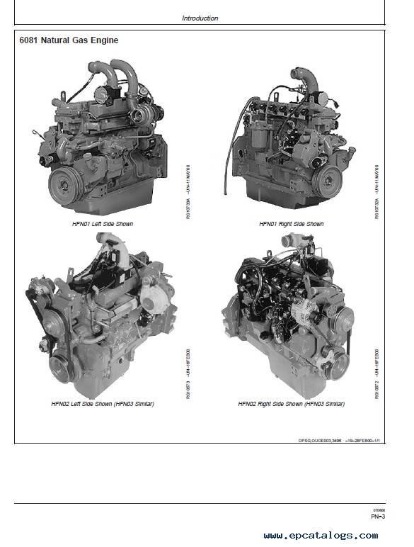 JD PowerTech 8.1L 6081 Engine Operation Maintenance PDF