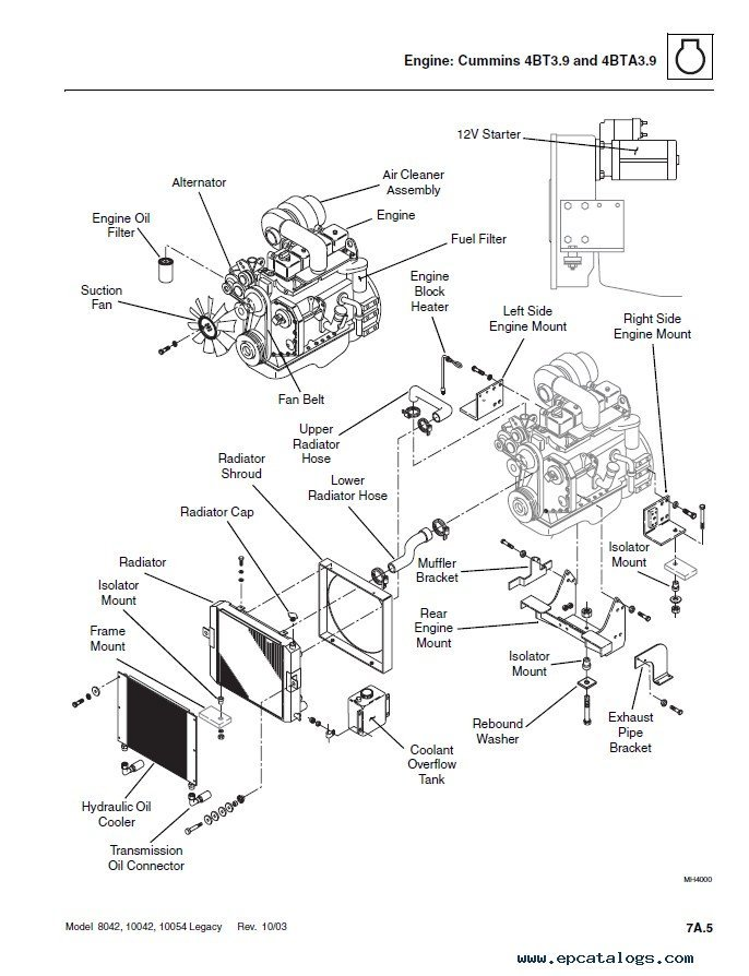 Caterpillar Starter Wiring Diagram Electrical Circuit Electrical