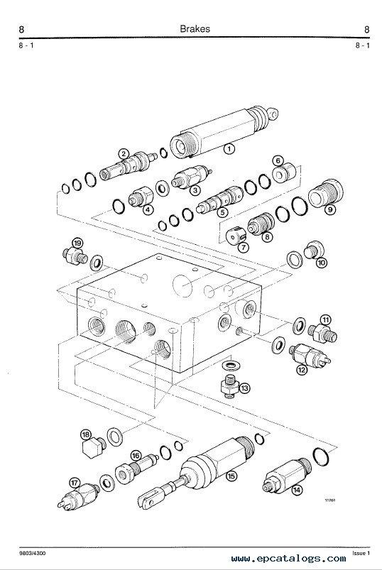 Download JCB Wheeled Loader 435 Service Manual PDF