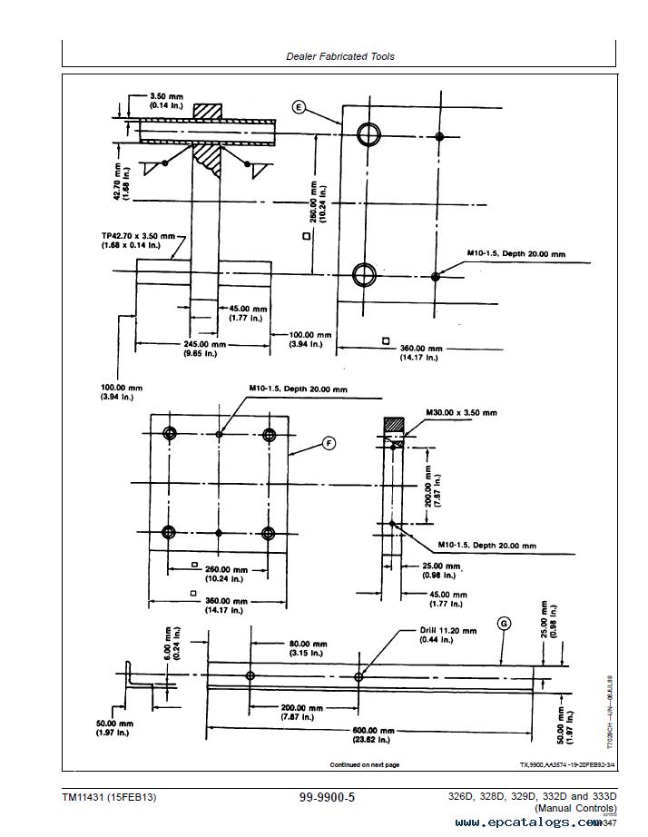 John Deere 326D 328D 329D 332D 333D PDF TM11431