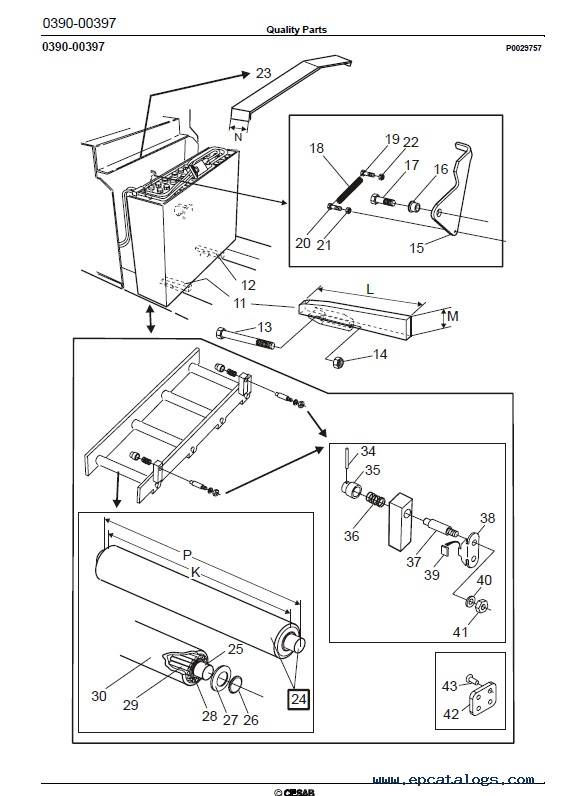 Download Cesab Reachtruck R216 Quality Parts Manual PDF