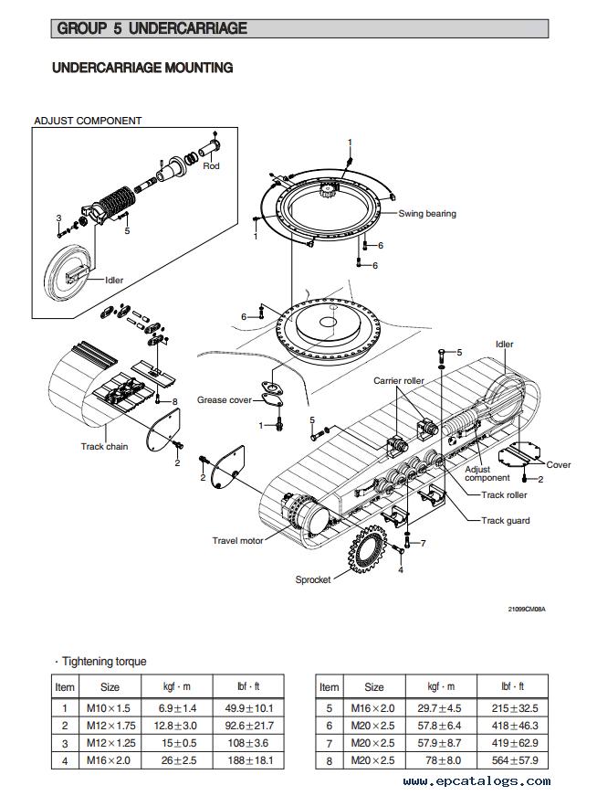 Hyundai R210LC-9 Crawler Excavator Service Manual