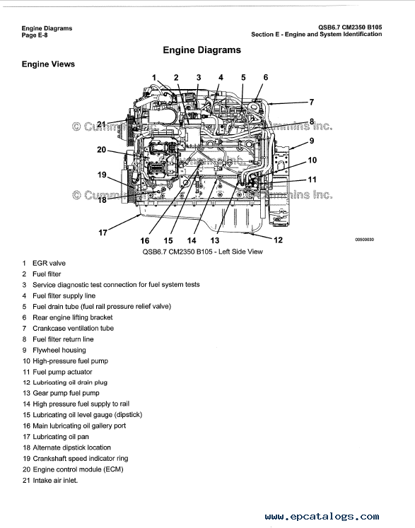 Download Cummins Engine QSB6.7 Operation Maintenance Manual