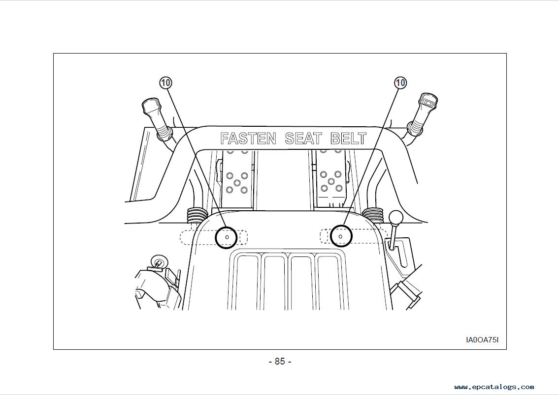 Daewoo Doosan 430/450/460, 440 Plus Skid Steer Loader