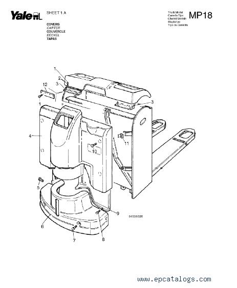 Yale Truck B841 (MP18) Download PDF Set of Manuals