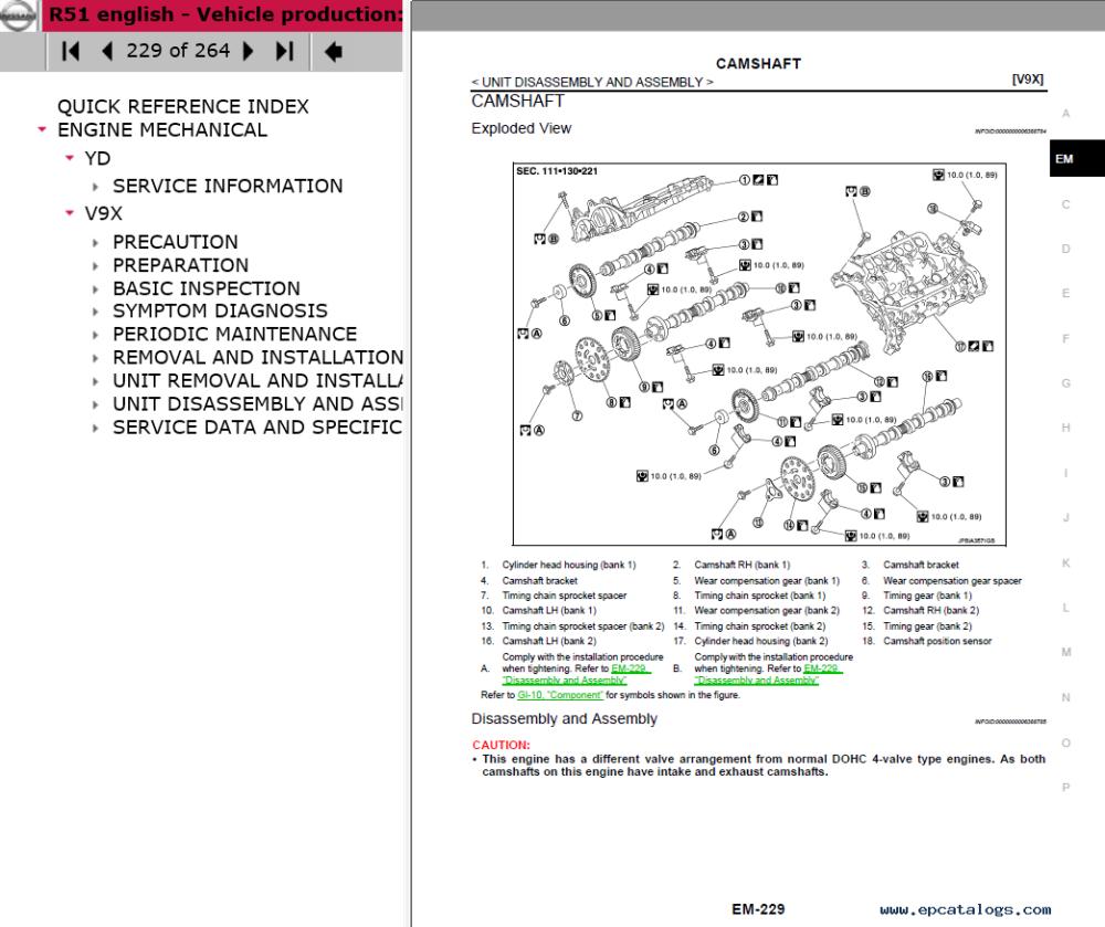 medium resolution of repair manual nissan pathfinder model r51 series 2016 electronic service manual 3