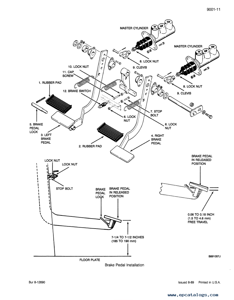 Case 580K Phase 3 Backhoe Loader Service & Parts PDF