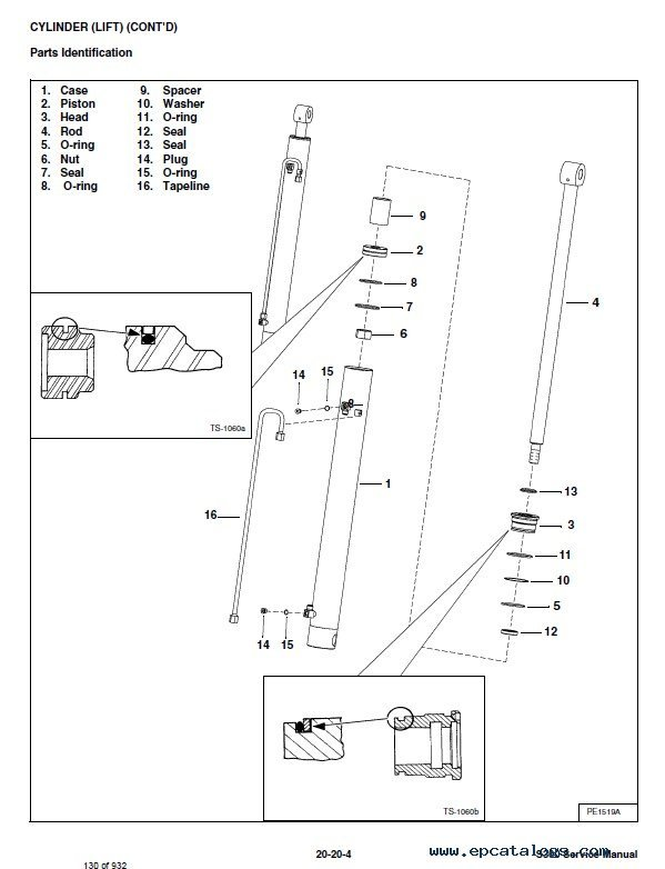 Bobcat S300 Skid-Steer Loader Service Manual PDF
