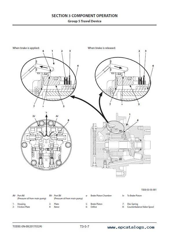 Hitachi Hydraulic Excavator ZX85USB-5A Workshop Manual