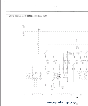 MAN Electrical System (TG-A) Wiring Diagrams Manual PDF