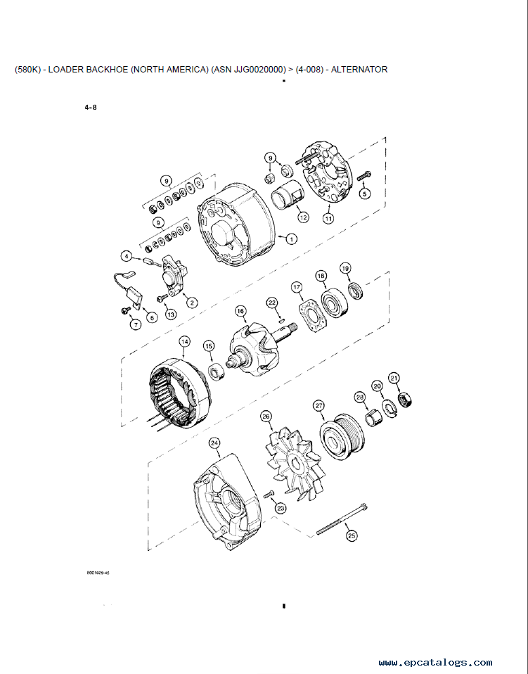Wiring Diagram For Case 580 Ck Backhoe Case 580 SE Backhoe